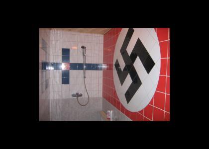OMG, Public Nazi Shower!