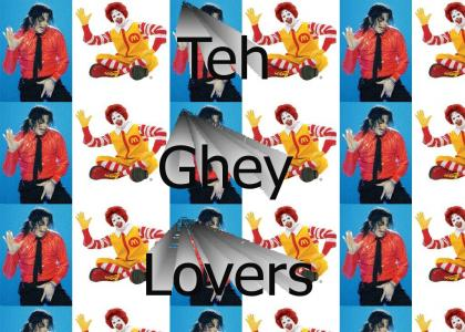 Ronald McDonald and Michael Jackson are Gay Lovers