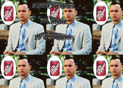 forrest gump loves dr. pepper