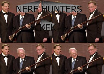 nerf hunters