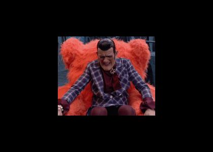 Robbie Rotten is the Master of Disguise