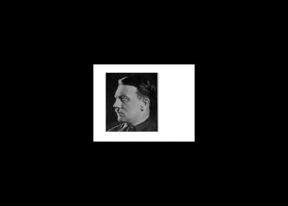hitler doesn't change facial expressions in 3D