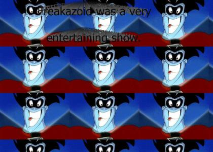 Good advice from Freakazoid