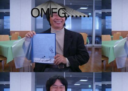 LUEshi has met Miyamoto!