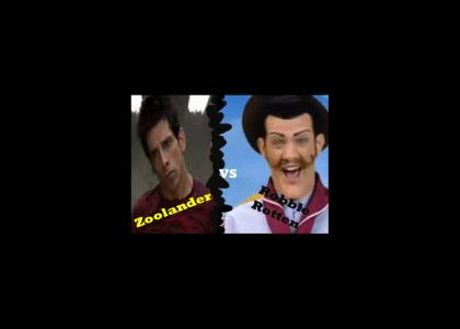 Zoolander vs. Robbie Rotten
