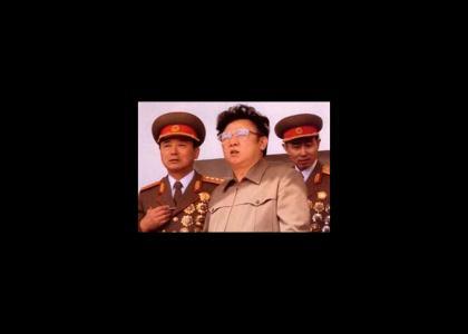 Can Kim Jong-Il resist?