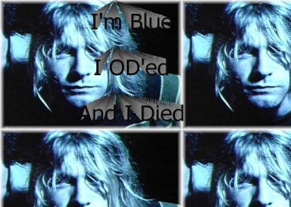 Kurt Cobain is Blue