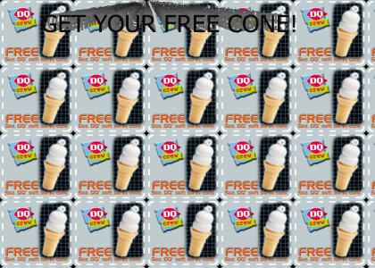 Get Your Free Cone!