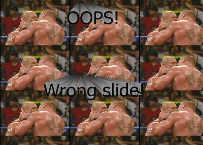 Wrestling is seriously not gay! Sheesh!