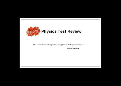 YTMND Physics Test