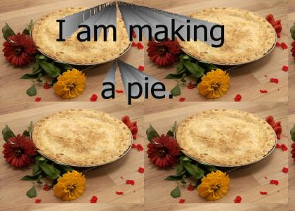 I am making a pie.