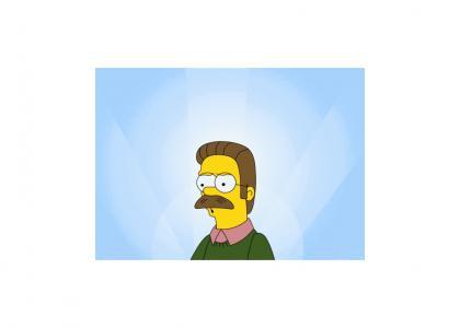 Ned Flanders big Secret..