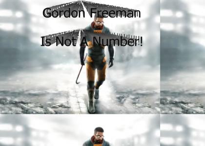 Gordon is a Freeman