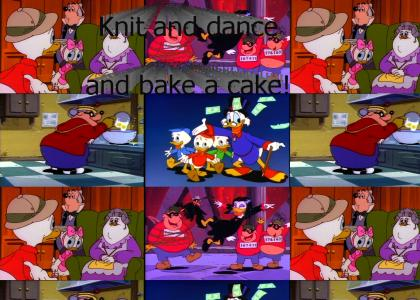 DuckTales: Knit and Dance and Bake a Cake!