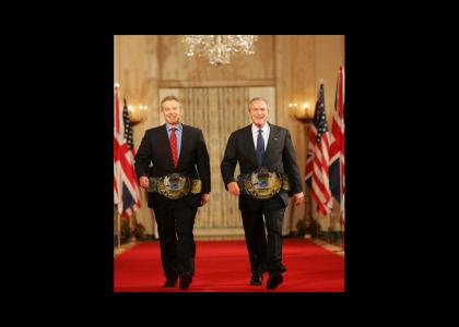 WWF Tag Team Champions : Bush and Blair