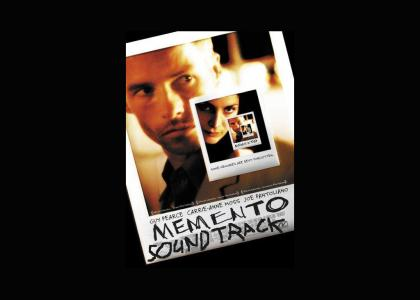 Memento Soundtrack! Buy now!