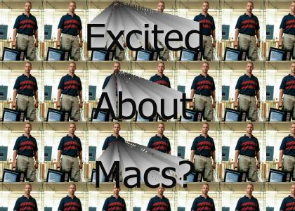 Excited about your new Mac?