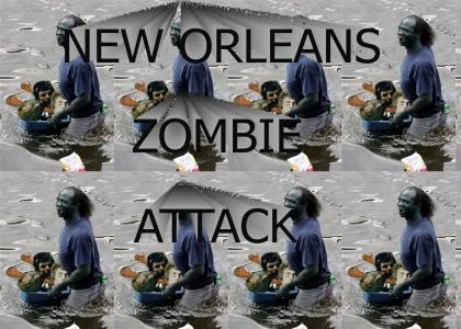 New Orleans Zombie Attzck