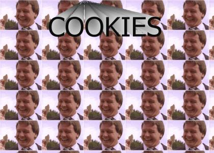 ?  Rowdy Roddy Piper Doesn't Like Free Cookies