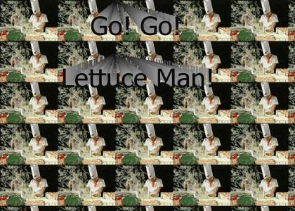 Go! Go! Lettuce Man!