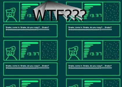 Metal Gear Stupid!!!
