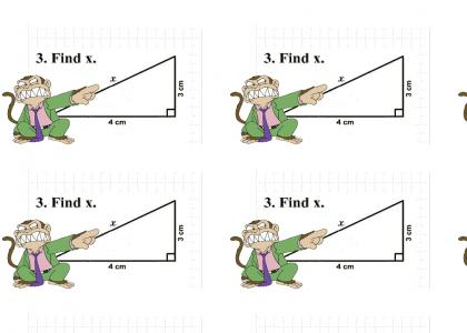 Evil Monkey Pwned Math