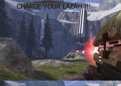 Charge up yah lazaz!!!