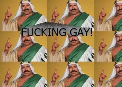 The Iron Sheik tells you what you really are
