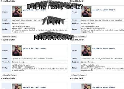 Lex Luger Myspace Suicide