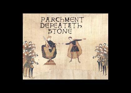 Medieval Rock Paper Scissors Victory