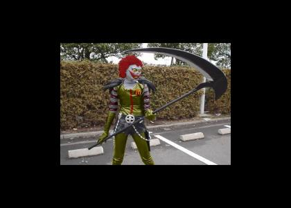Where is your Shinigami Now? Ronald Gains an Ally