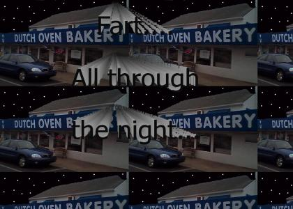 Dutch Oven At Night...