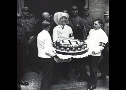 OMG Lazytown Secret Nazi Cake!!!!