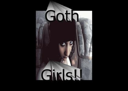 I can't talk to goth girls