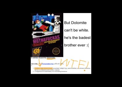 Dolomite be White