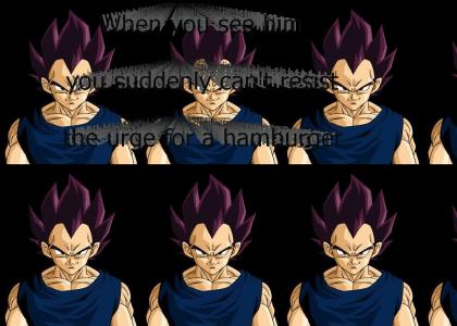 Vegeta is subliminal advertising