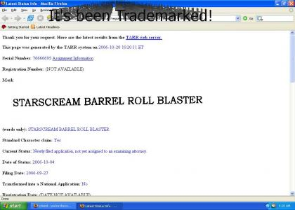 Confirmed: Transformers Barrel Roll!