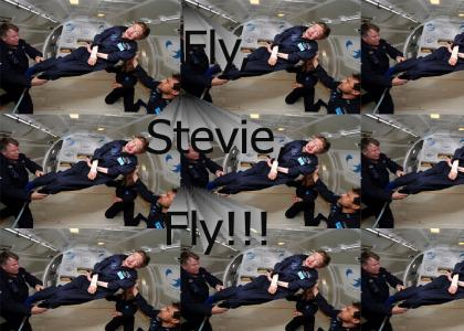 Steven Hawking Soars!