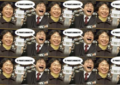 Miyamoto and Iwata are Havin' a Good Time