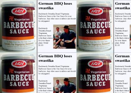 OMG, Secret Nazi BBQ Sauce !! ($1.85)