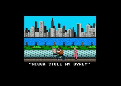 Nigga stole my dyke!
