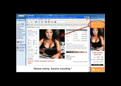 Online dating is a lie!