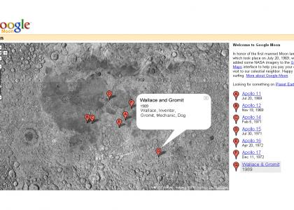 Google (Moon!) maps.....