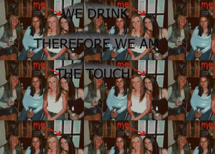 We are cool because we drink