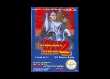 Megaman 2's Box Art 0.0