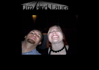 Tim and Laura in Love