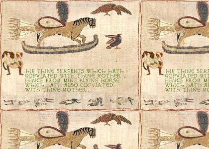 Medieval Snakes on a Plane (now with 100% more moor... and snakes!)