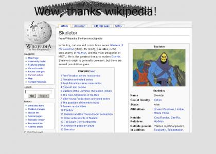 Wikipedia is ... great!