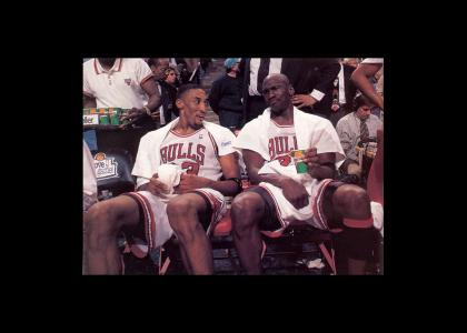 Scottie Pippen = ultimate wingman