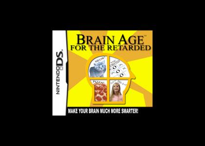 BRAIN AGE for the RETARDED